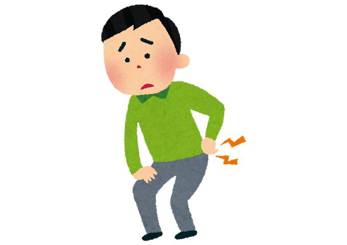 ぎっくり腰(゜.゜)